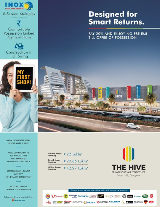 Price List for Satya The Hive Sector 102 Dwarka Expressway Gurgaon